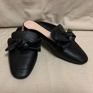 BP 'Maddy' Black Bow Mules